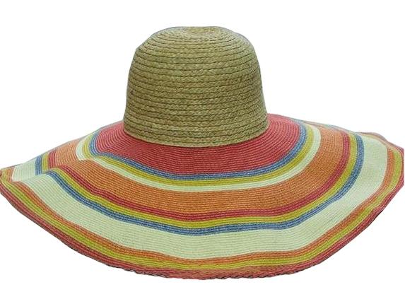 Raffia Top   Toyo Brim - Sunrise Broad Shade Hat   That Way Hat. New ... 55e99ad5137