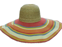 Raffia Top / Toyo Brim  - Sunrise Broad Shade Hat
