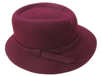 Strictly Business Women's Wool Felt Hat (2 Colors)