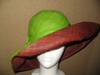 Madagascar Raffia Sun Hat - Extra, Extra Small Head Sizes