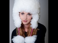 Pitusa Thick White Alpaca Fur Hat