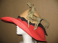 Kentucky Derby Hat -  Palm Horse