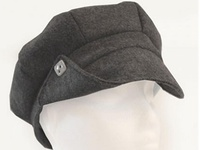 Gatsby Scally Cap - Felted Recycled Plastic Bottles - Grey or Yellow