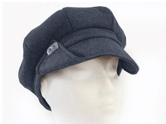 Recycled Ivy Hat Black Denim Gatsby From Plastic