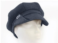 Recycled Ivy Hat - Black Denim Gatsby - from Plastic Bottle Fabric