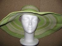 Super Light Big Brim Glamour Hat