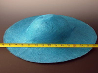 Large Blue PariSisol Hat Body - Teal