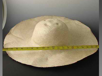 Oversized Natural Pari Sisol Hat Body