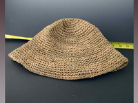 Medium Sized Hat Body of Crocheted Seagrass