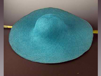 Sized Hat Body of Finely Woven Pearly Visca