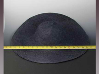 Large Sinamay Hat Body - Stiffeend and Unstiffened
