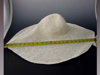 Oversized Crochet Crowned Hat Body in Twisted Toyo