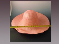 Pari Sisol Weave Hat Body With Extra Large Brim
