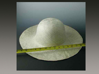 Sized Sage Pari Sisol Hat Body in Fine Grade 1 Weave
