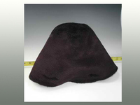 Hat Hood with Inside and Outside Beaver Finish