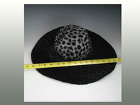 Printed Double Sided Finish Beaver Hat Bodies