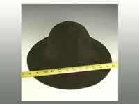 Double Sided Sable Hat Body of Premium Velour
