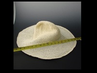 Unstiffened Crochet Crowned Hat Body in Twisted Toyo