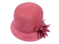 Wool Cut Flower Cloche - Pink