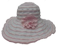 Pink - Packable and Sunblock Hat