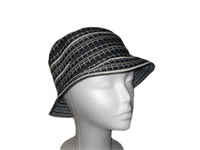 Black with White Crosses Hat