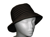 Black Color Dots Bucket Hat