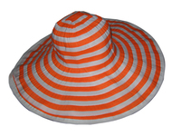 Candy Orange Beach Hat - $13.95: Washable Polyester