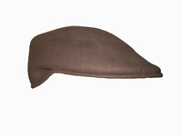 Scally Cap - Medium Brown Wool