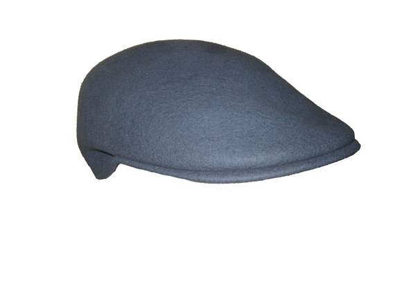 Scally Cap - Blue Wool   That Way Hat. New 71161d67f85