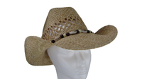 Cowboy Hat with Seashells