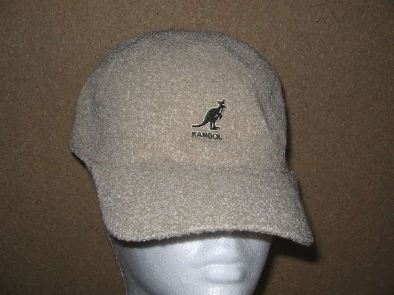 Kangol Beige Baseball Cap   That Way Hat. New 8550062f198