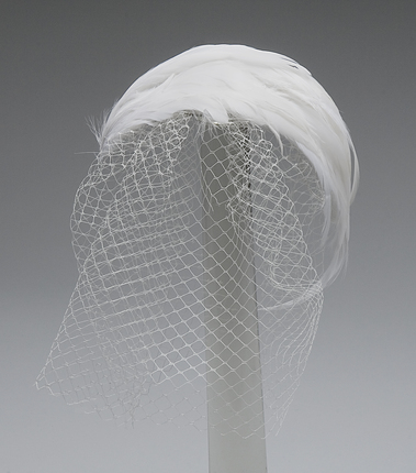 Veil on Side of Head