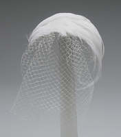 Feather Theater Bandeau Couture Millinery