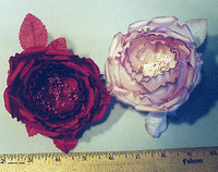 Cup Shaped Silk Rose Millinery @silkrose