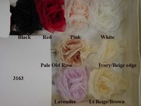 Twin Center Rose Silk For Bridal
