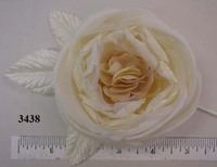 English Garden Silk Rose Crinkled Center From Thailand