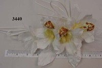 Cymbidium Orchid Wreath By 4 Flower Pin Or Bridal