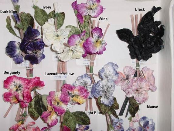 Pansy cluster by 3 artificial flower millinery supply trim that pansy cluster by 3 artificial flower millinery supply trim mightylinksfo