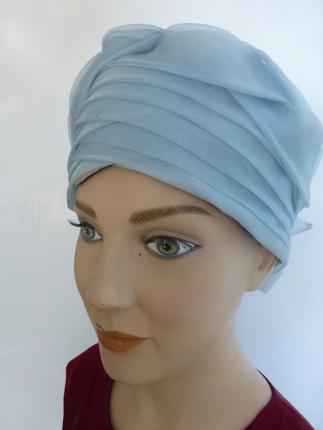 Vintage 1960 s Light Blue Turban Style Hat   That Way Hat. New af47c6e6b8f
