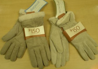 Cream Colored Isotoner Gloves
