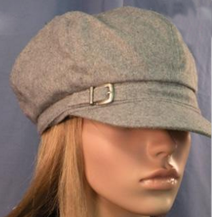 Nine West Black Buckled Conductor Hat   That Way Hat. New e49f641db5e