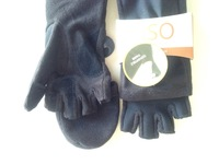 Cut Off Finger Women's Gloves
