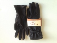 Black Thin Nylon and Thinsulate Women's Glove