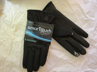Men's Black SmarTouch Gloves