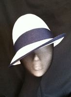 Stingy Brinm Trilby / Blue/White