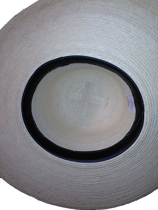 5dc1eb467b0cf Women s Stiff Palm Straw Sun Hat - Guatemala   That Way Hat. New ...