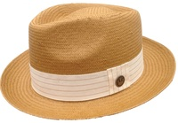 Natural Tan Snare Hat by Goorin