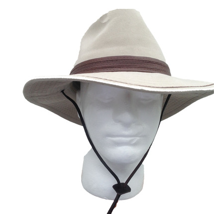 1f44bd703179d Stetson Cotton Men s Safari Hat - Sand   That Way Hat. New