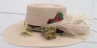 Rock 'n Roll Fur Felt Hat - (after the style of Bob Dylan) Made in America