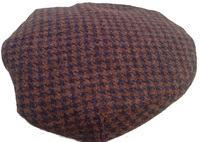 Checkered Transformable Ivy Cap – Brown Harris Tweed